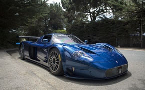 Wallpaper sportscar, Maserati, Maserati MC12 Corsa, Street Legal Maserati MC12 Corsa