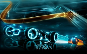 Picture Tron Legacy, Race, Tron, The throne