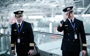 Picture movie, the film, disaster, the plane, escalator, pilots, Russian, pilots, The crew, Vladimir Mashkov, Danila …