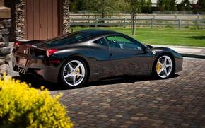 Picture Ferrari, silver, Ferrari, 458 italia, 458 Italy