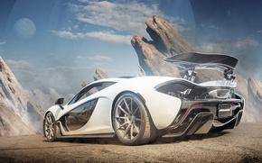 Picture supercar, rechange, McLaren, McLaren P1