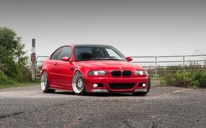 Picture BMW, E46, RED