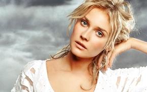 Picture look, white, actress, blonde, beautiful, Diane Kruger, model, Diane Kruger