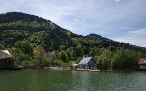 Picture Holiday homes, Berge, Green, Wasser, Alpsee, Immenstadt