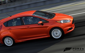 Picture 2014, Forza Motorsport 5, Xbox One, Ford Fiesta ST