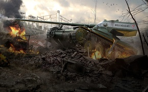 Picture WoT, World of Tanks, World Of Tanks, Wargaming Net, Amx 13 57 Gf
