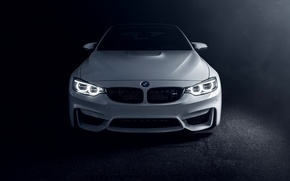Picture white, BMW, BMW, white, Coupe, front, F82, Richard Le