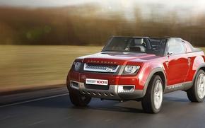 Picture road, asphalt, speed, Land Rover, Sport