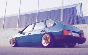 Wallpaper Style, Stens, 2109, Machine, Stance, Tuning, Vaz, Tuning, VAZ