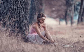 Picture nature, ballerina, skirt, Pointe shoes, Alessandro Di Cicco, Comedy of life