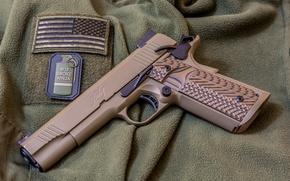 Picture gun, weapons, 1911, Kimber Custom