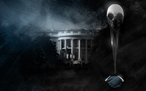 Picture Mask, Wolf, The white house, Overkill Software, PAYDAY 2, Wolfe, the White House