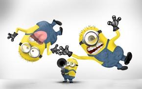 Picture background, Wallpaper, cartoon, fun, minions, Despicable me