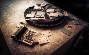 Picture Darts, The Gambler, playing cards, urban exploration