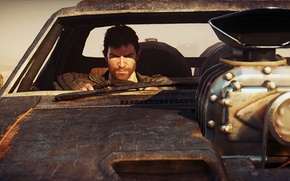 Picture chase, car, Mad Max, Fury Road, Mad Max