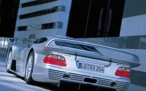 Picture metalik, sports, Mercedes-Benz clk
