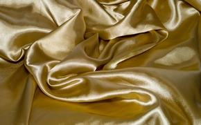 Picture background, fabric, Golden, beige, silk fabric, Golden fabric