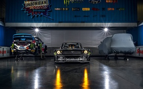 Picture Gymkhana, 1965, Block, Hoonicorn, SEVEN, 845 hp, Monster, Ken, Front, Studio, Energy, RTR, Mustang, Ford