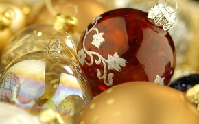 Wallpaper Balls, toys, decoration