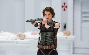 Picture Life after death, Resident Evil, in 3-D, September 2010