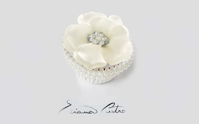 Picture decoration, cream, dessert, cakes, sweet, cupcake