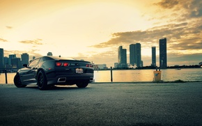 Picture the city, City, camaro, chevrolet, cars, auto