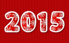 Wallpaper Happy, New Year, New Year, 2015
