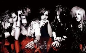 Picture Japan, Kai, Aoi, j-rock, To uruh, Reita, Ruki, the GazettE