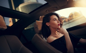 Picture auto, girl, makeup, Ivan Gorokhov, Alia
