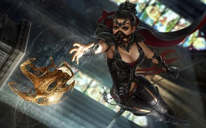 Picture Girl, mask, equipment, thief