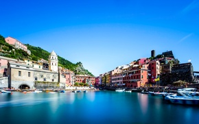 Picture Houses, Italy, Vernazza Cinque Terre, home, channel, Sky, the sky, Italy