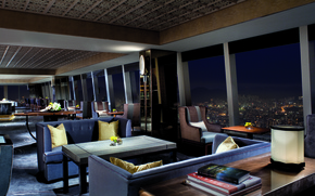 Picture design, the city, style, interior, club, megapolis, club, lounge