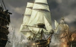 Picture Ship, the battle, Total War