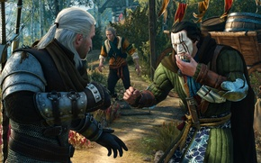 Picture The Witcher, Medieval, The Witcher 3, Wild Hunt, Geralt