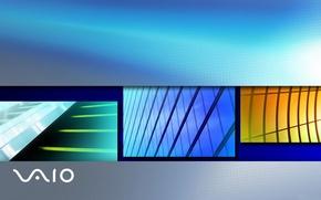 Picture logo, saver, Vaio