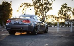 Picture BMW, BMW, grey, E92