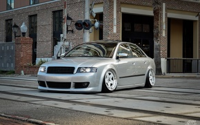 Picture audi, tuning, low, stance