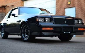 Picture muscle, classic, buick, grand national