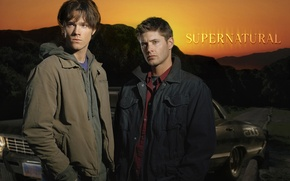 Picture sam, din, supernatural, Jensen ackles, Jared padalecki, impala 1967