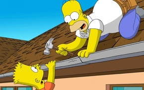 Picture The simpsons, Simpsons, Homer, Bart