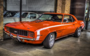 Picture Chevrolet, Camaro, muscle car, classic, 396 SS