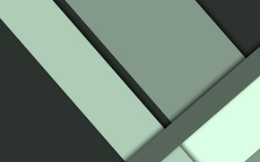 Picture line, green, geometry, design, color, material, flat