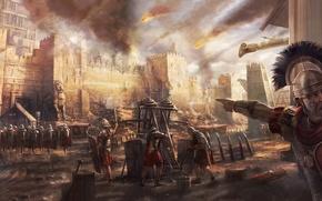Picture Egypt, Walls, Battle, Roman Army, Legio, Centurion, Bombard, Victories, Manpower, Legionaries, Ballista