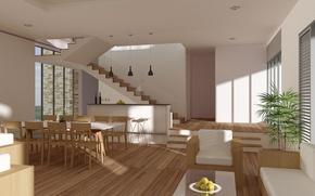 Picture design, house, style, Villa, interior, living space, Design for Modern Architecture