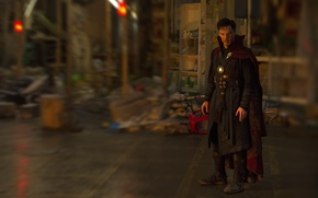 Picture wallpaper, blood, Disney, magic, man, Marvel, hero, cover, Marvel Comics, Benedict Cumberbatch, medallion, powerful, strong, …