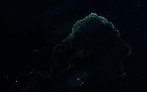 Picture space, nebula, starkiteckt