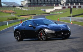 Wallpaper GranTurismo, 2015, MC Sportline, supercar, Maserati, Maserati