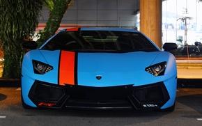 Picture Lamborghini, Blue, LP700-4, Aventador, Supercars, Exotic