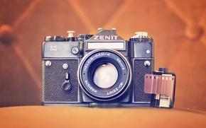 Picture background, camera, Zenit