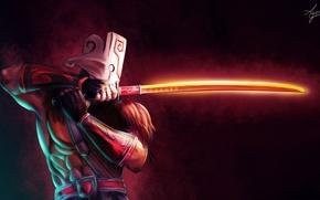 Picture Art, Valve, Dota 2, Juggernaut, Healing Ward, Blade Fury, Omnislash, Blade Dance